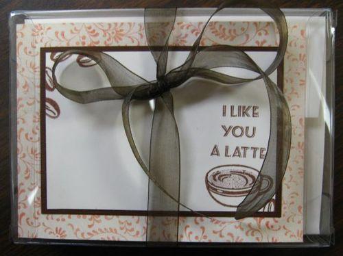 Coffee Correspondence Card Set