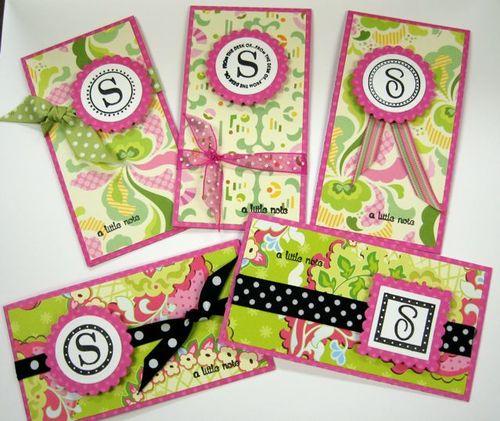 Monogram Cards